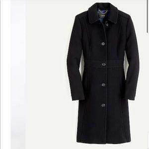 Petite classic lady day coat in Italian wool